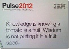 IBM Pulse 2012 -- Day One Keynote