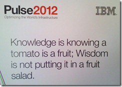 IBM Pulse 2012 -- Day One Keynote
