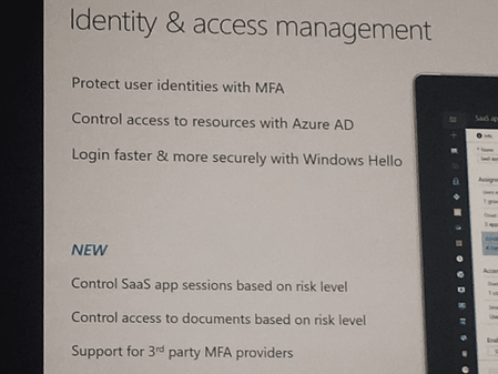Microsoft Ignite Enterprise Mobility and Security Highlights