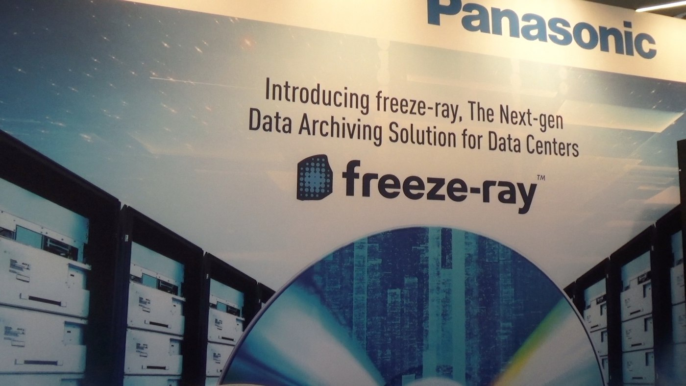 Panasonic data archiving