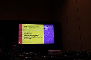 RSA title slide for session