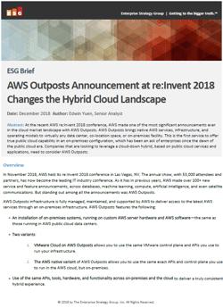 AWS-reInvent-Brief