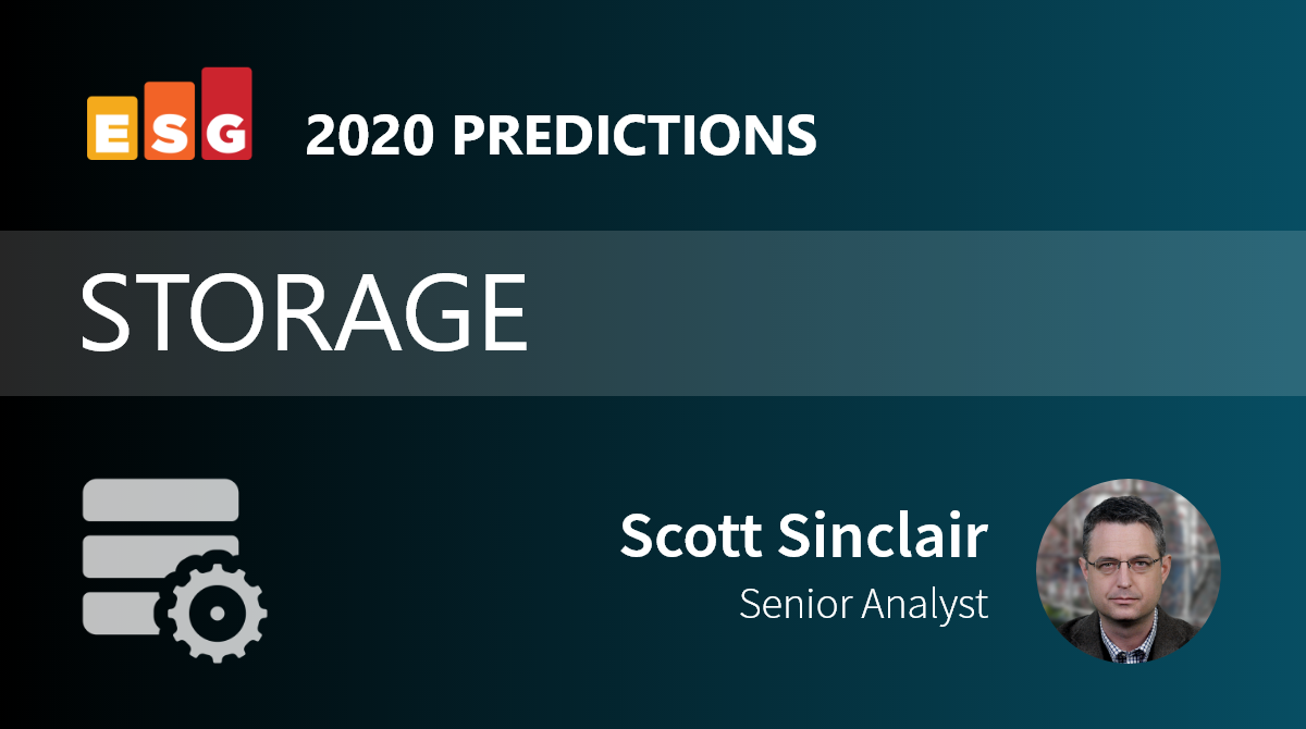 ESG Brief: Data Storage Predictions for 2020