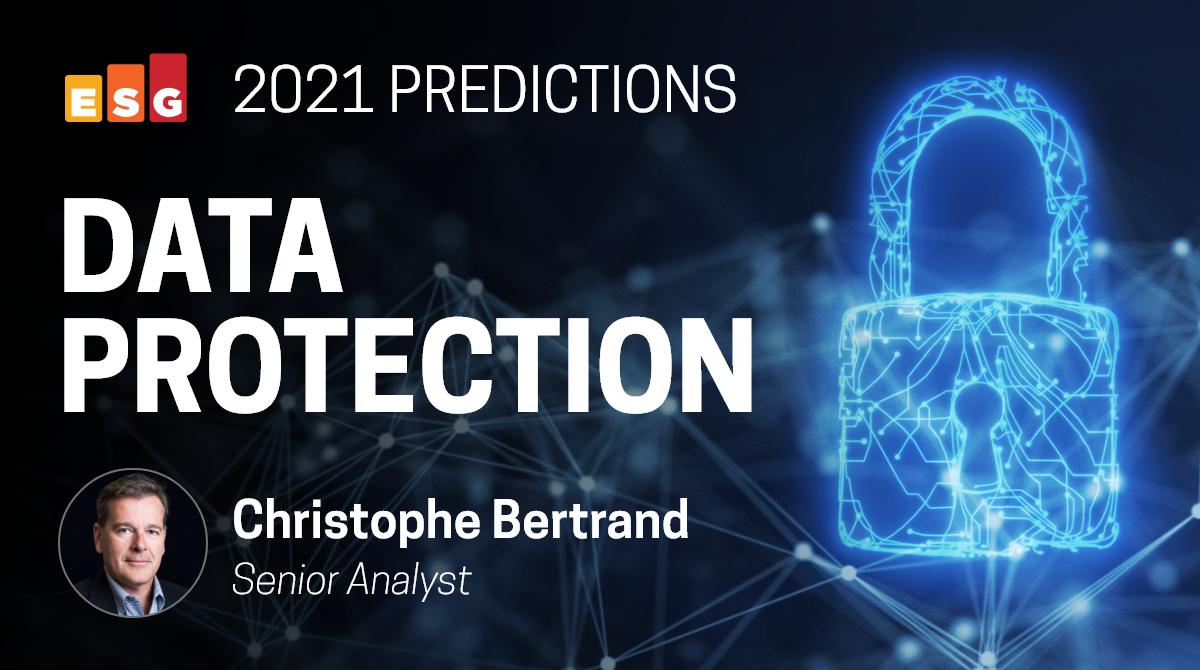 ESG Brief: Data Protection Predictions for 2021