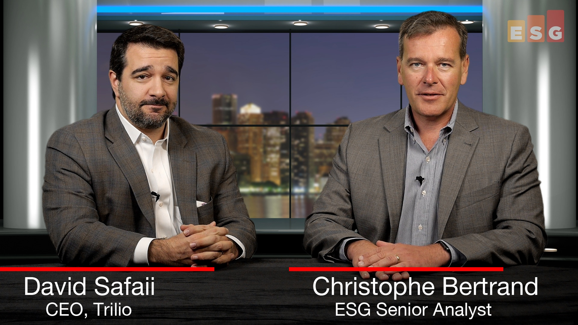 Data Protection Conversations:  David Safaii, CEO of Trilio (Video)