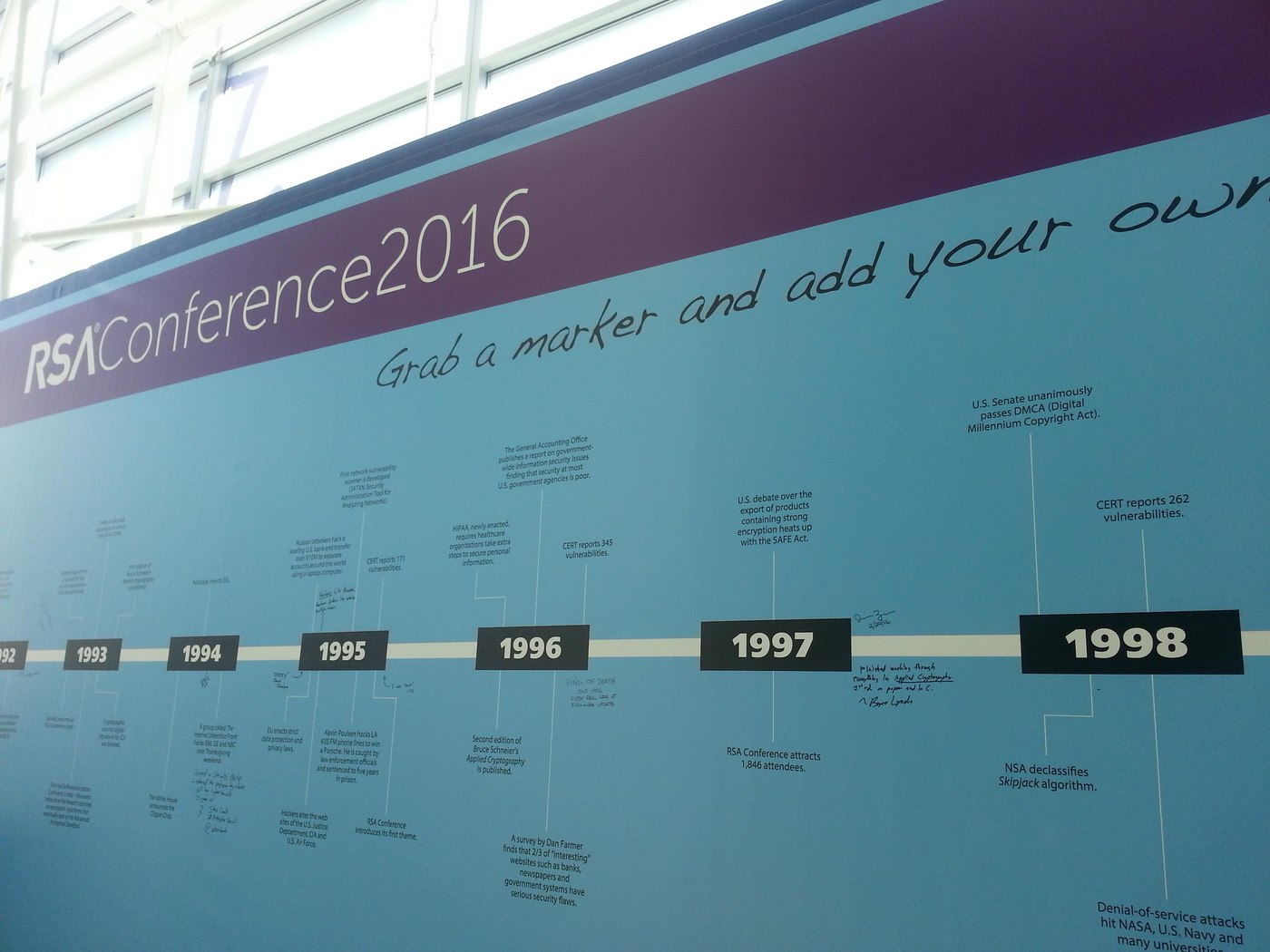 RSA Conference, Day Two (with photos)
