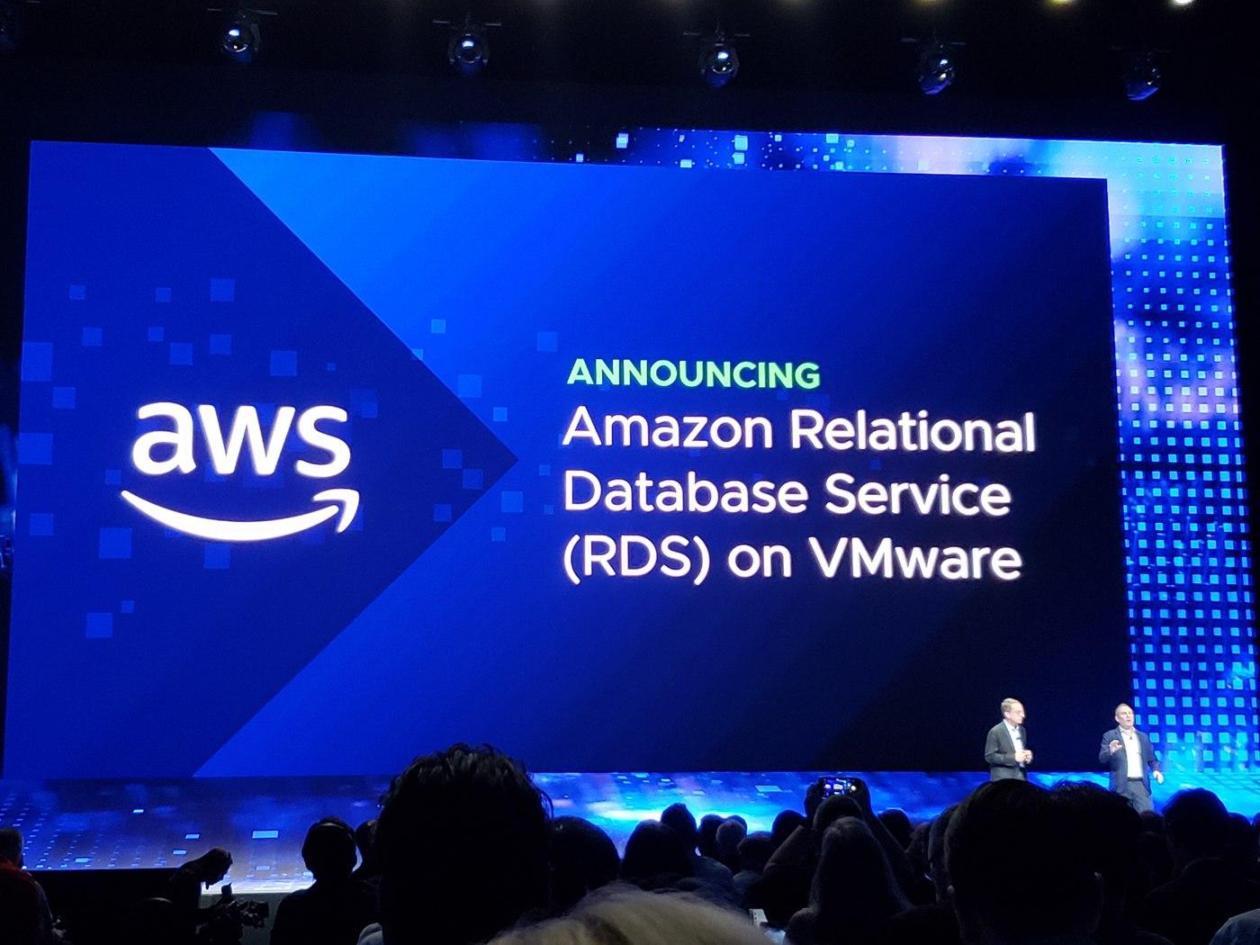 AWS and VMware: Fundamentally Changing Hybrid Cloud at VMworld 2018 Day 1