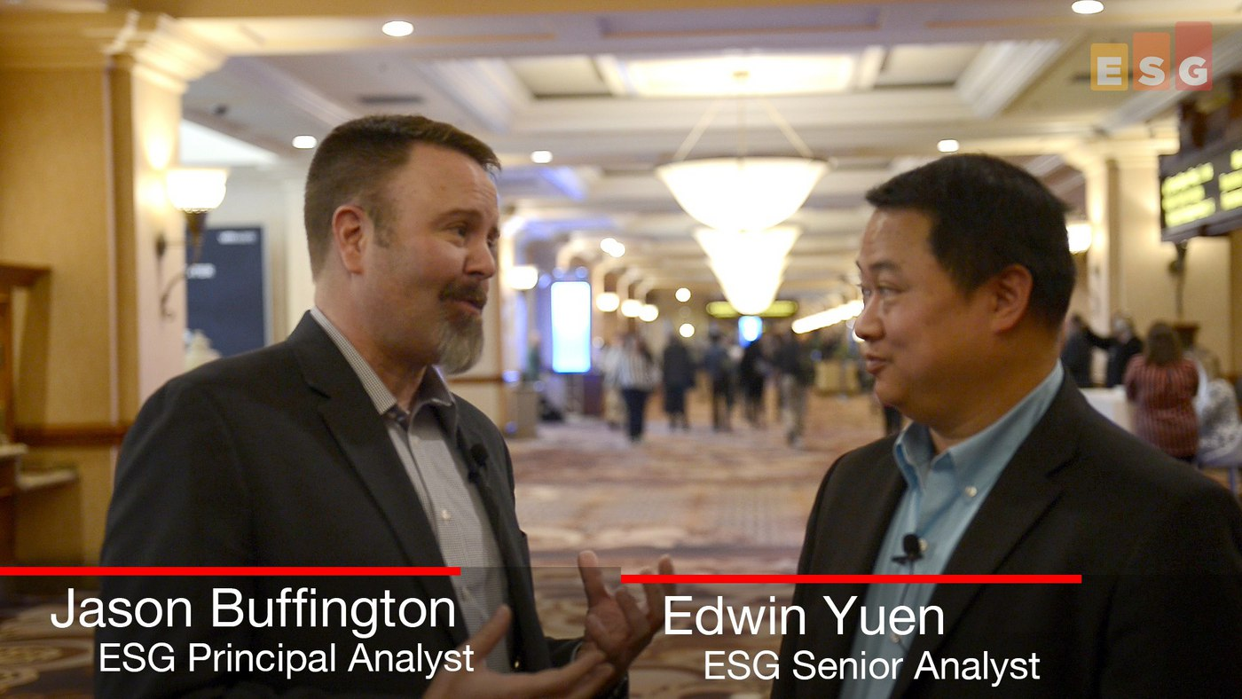 Data Protection Is (or Should Be) Increasingly Part of a Systems Management Strategy (Video)