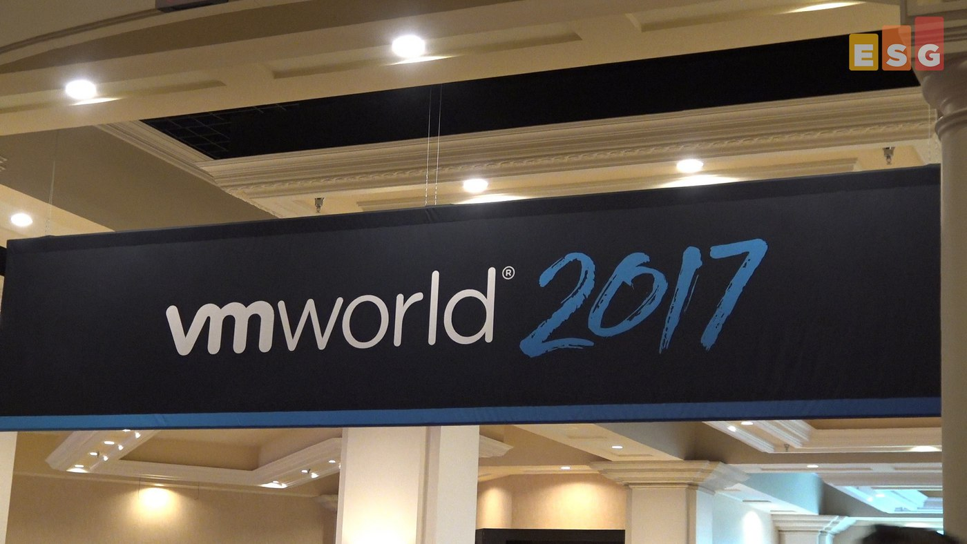 Wrap-up on Backup from VMworld US 2017