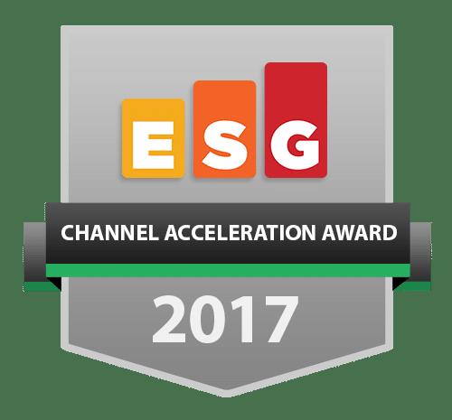 2017 ESG Channel Acceleration Awards - Part 1