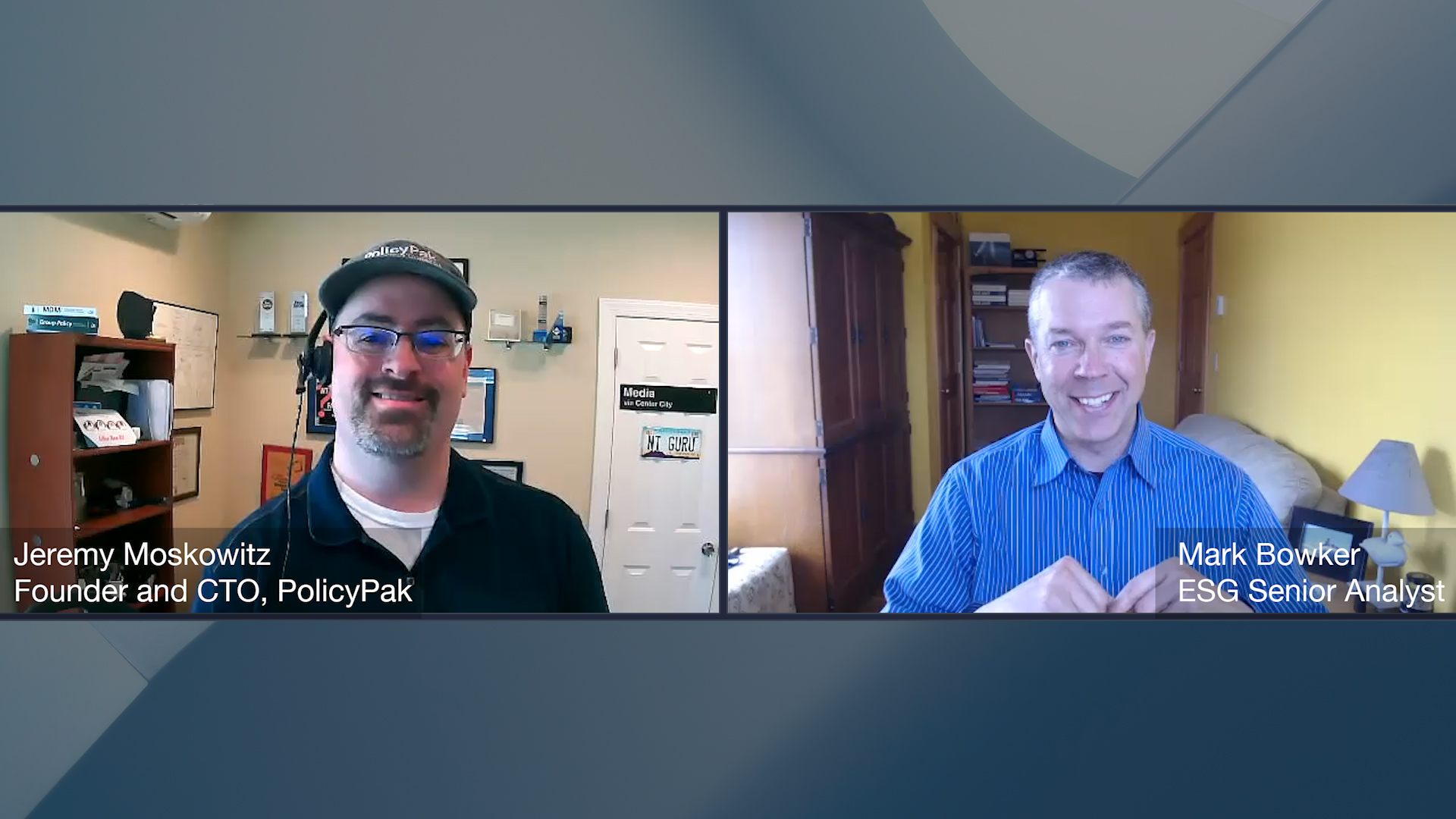 Digital Workspace Ecosystem Conversation with Jeremy Moskowitz of PolicyPak (Video)