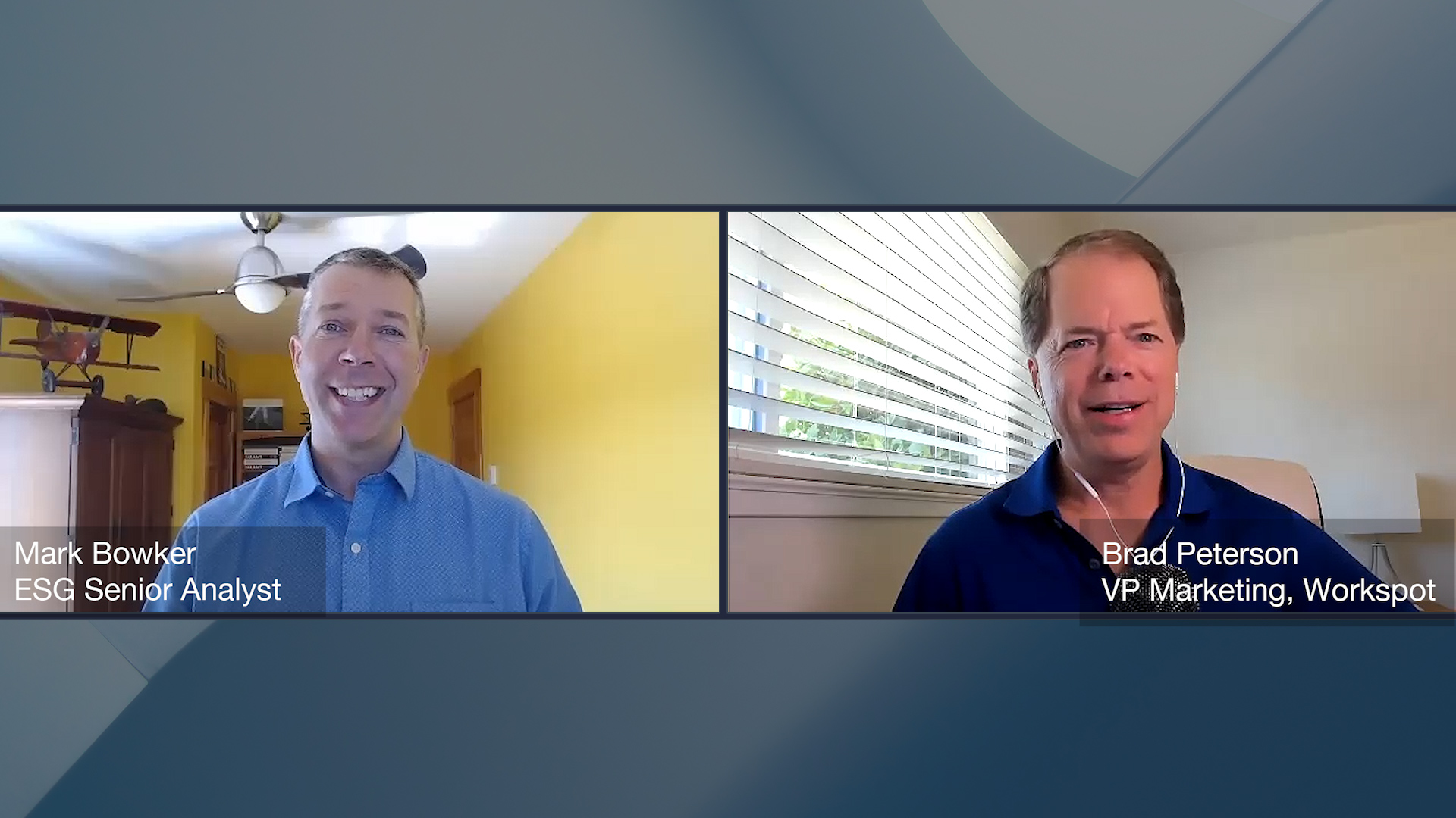 Double Daas? Video with Brad Peterson, VP Marketing, Workspot