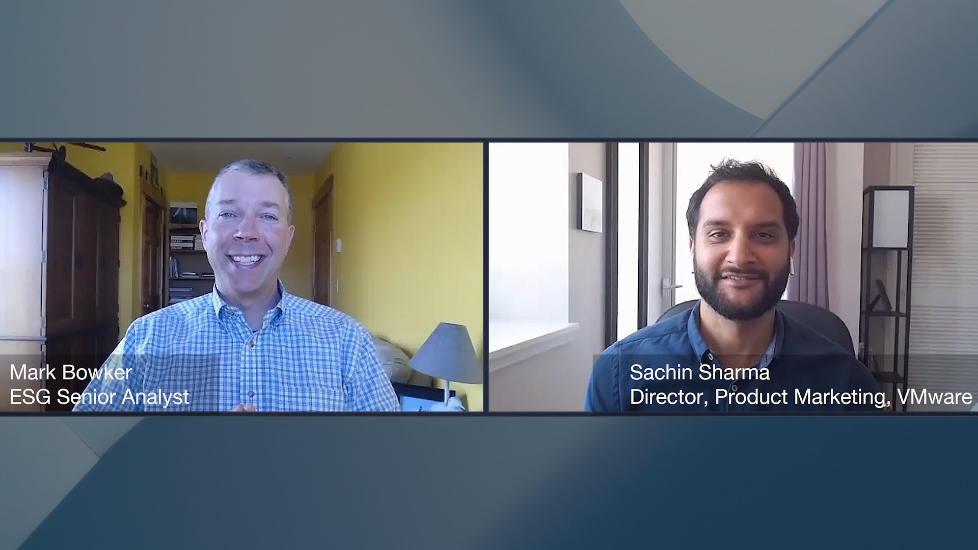 Enabling Remote Work Video with Sachin Sharma, Director, Product Marketing, VMware