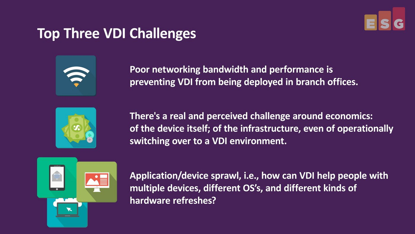 Top Three VDI Challenges (Video)