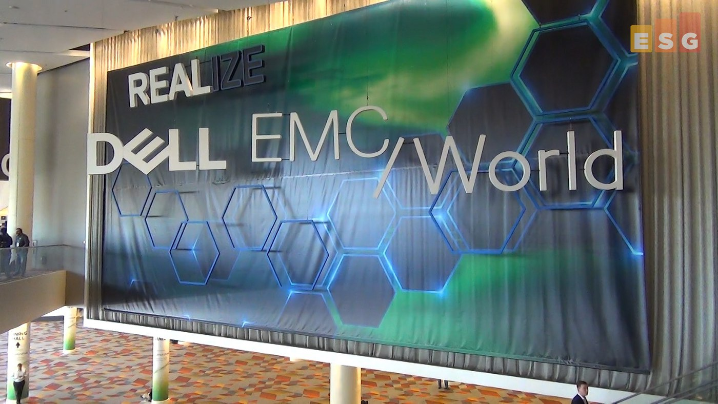 Dell EMC World – ESG's On Location Video Insights