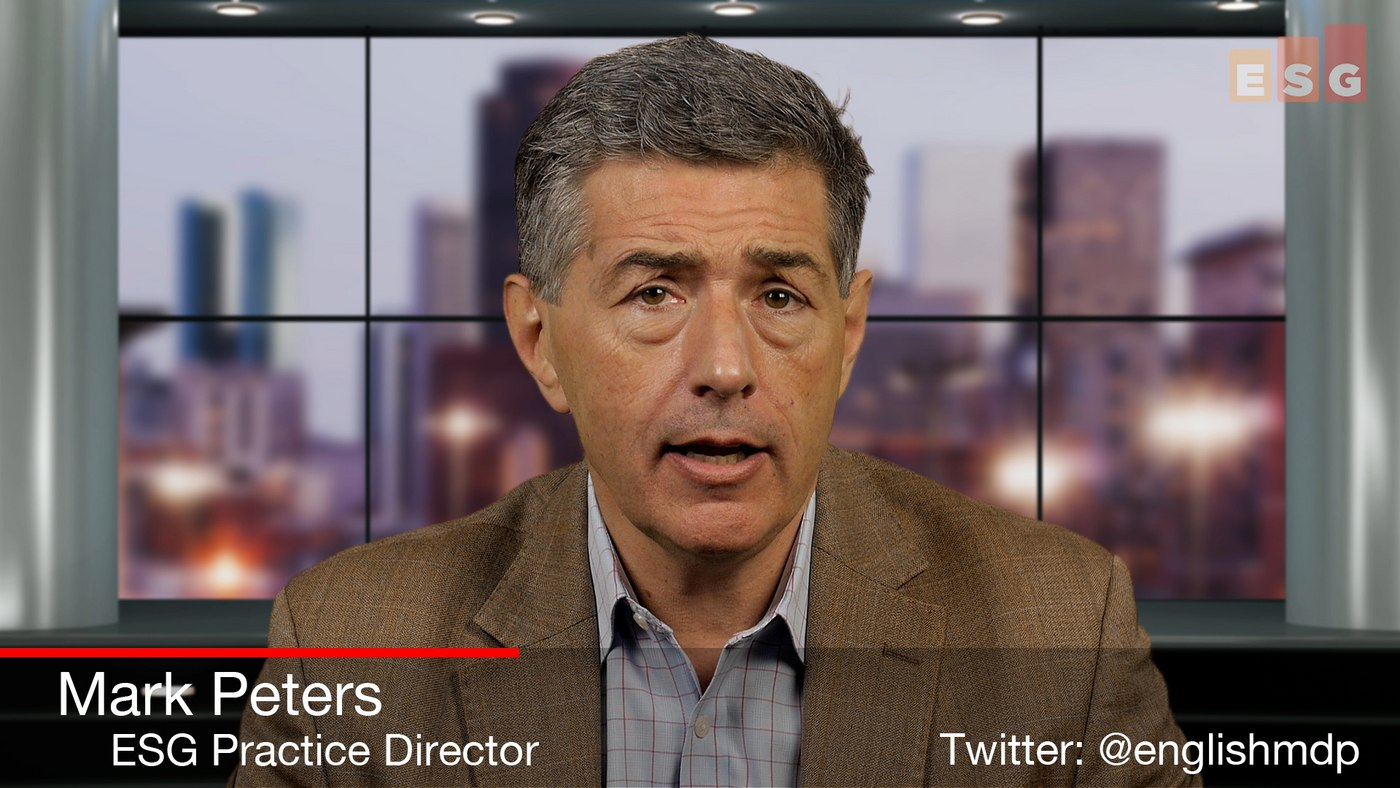 What Users Tell Infrastructure Vendors in Recent ESG Research (Video, Part 2 of 2)