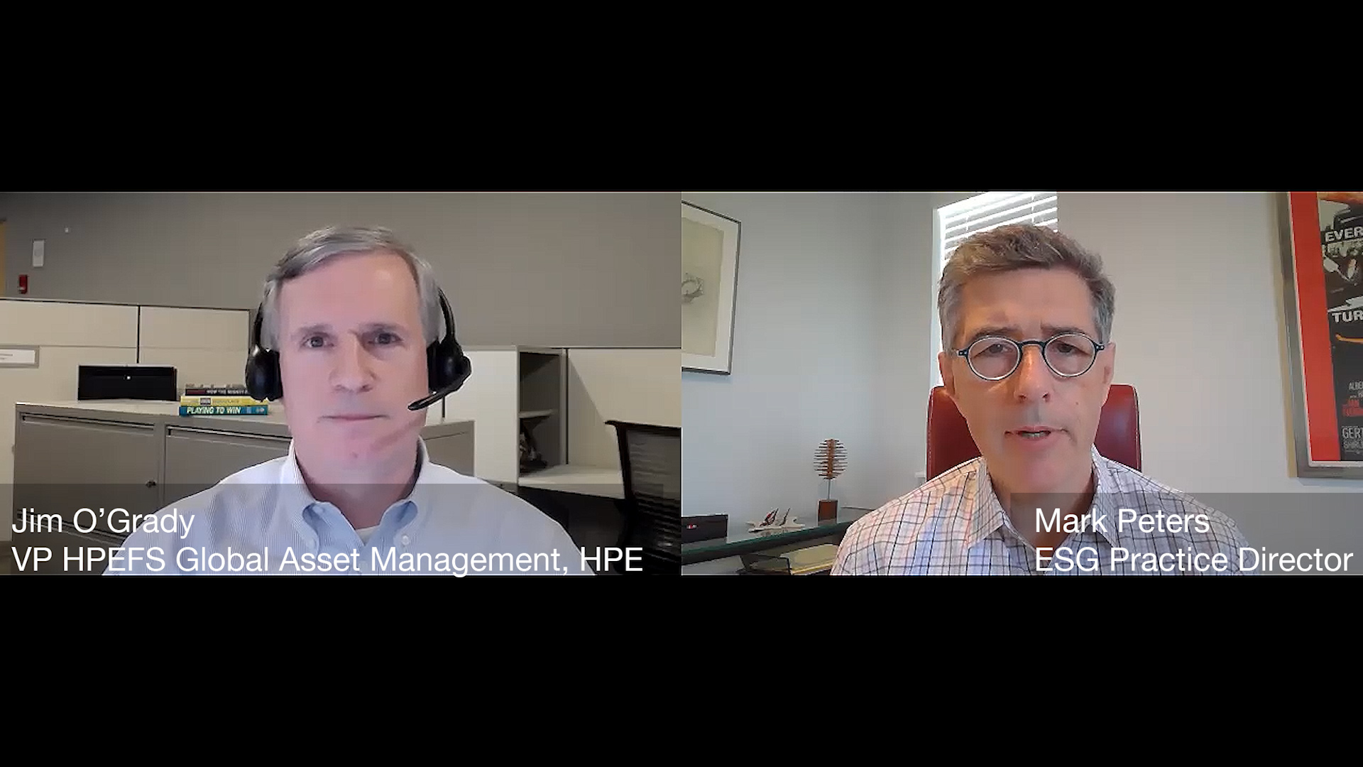 Marketing in Challenging Times - in Conversation with Jim O'Grady of HPE Financial Services  (Video)