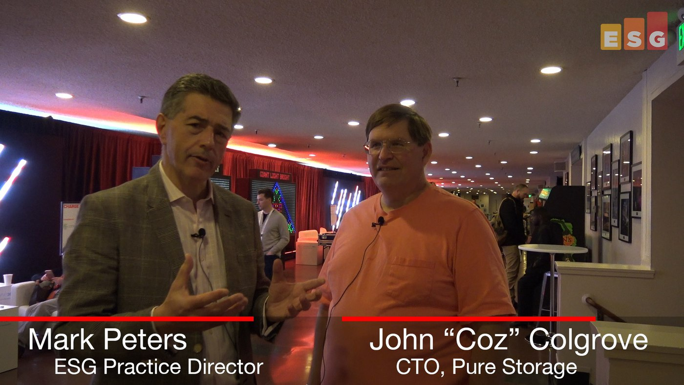 ESG in Conversation with 'Coz' at Pure Accelerate (Video)