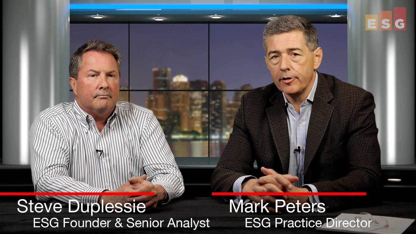 Talking IT Evolution (ESG 360 Video Series)