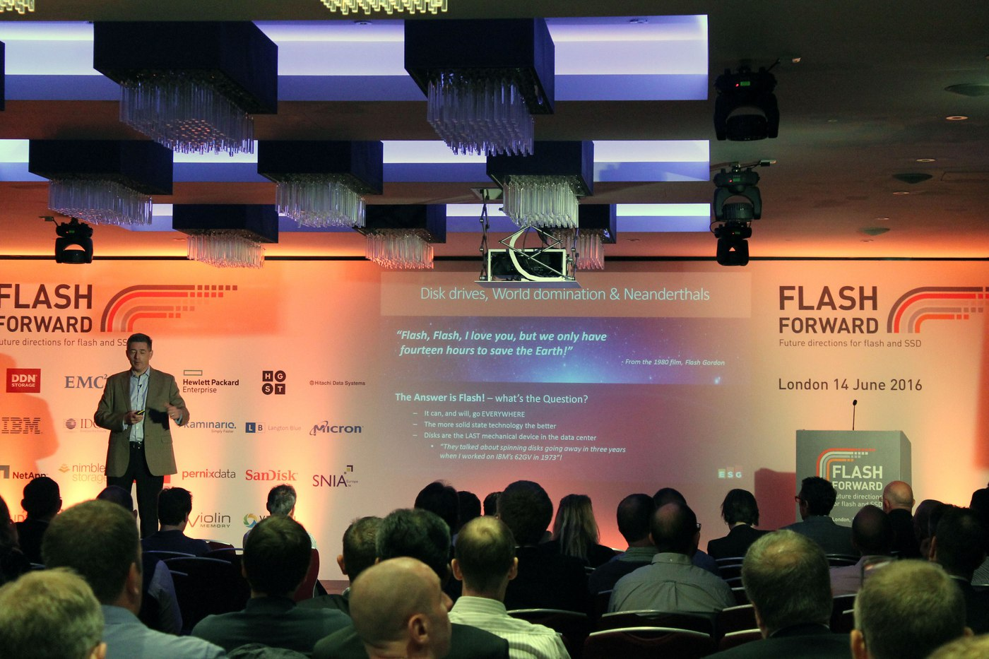 Flash Forward, London: refreshing purpose and content