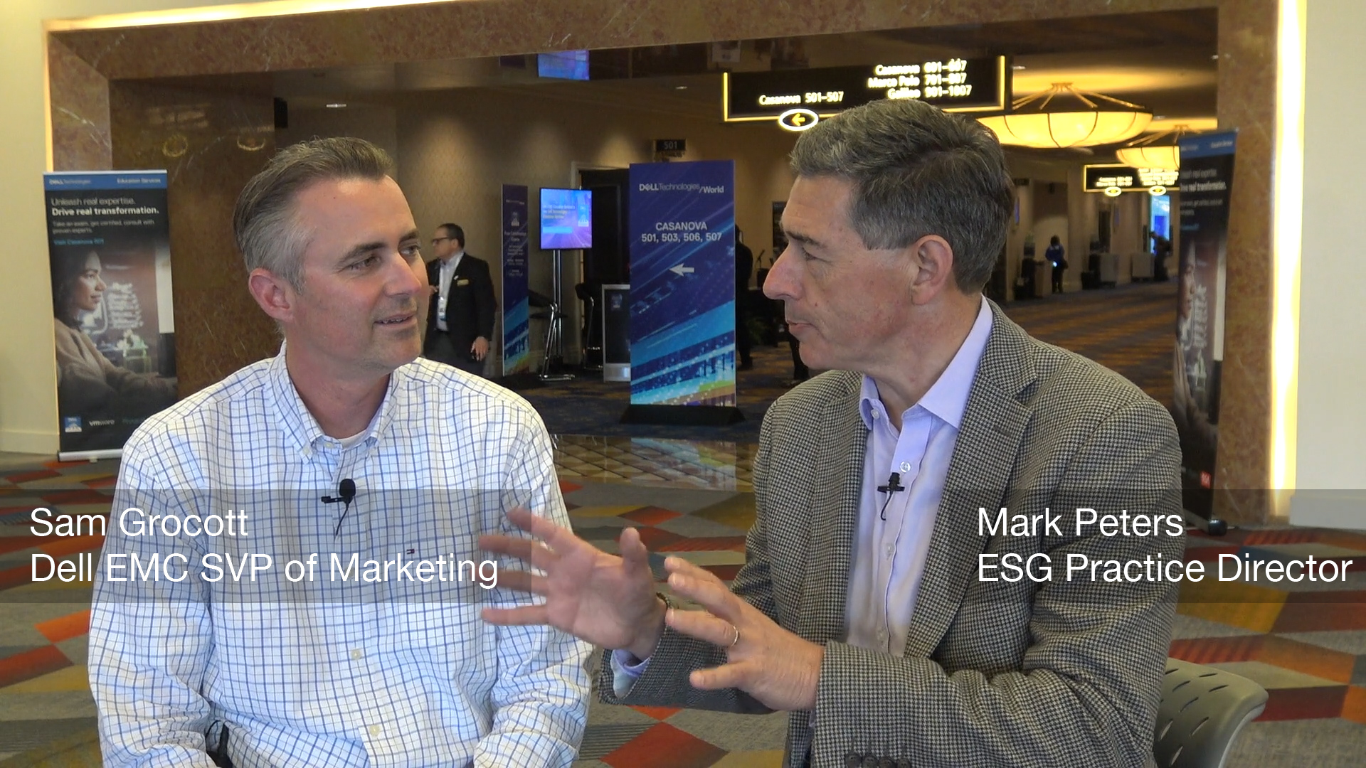 In Conversation with Sam Grocott of Dell at DTW (Video)
