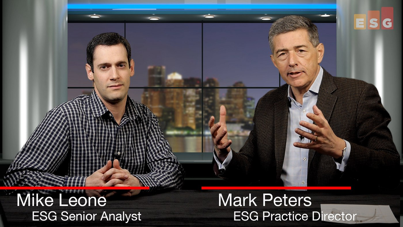 Talking Converged Architectures (ESG 360 Video Series)