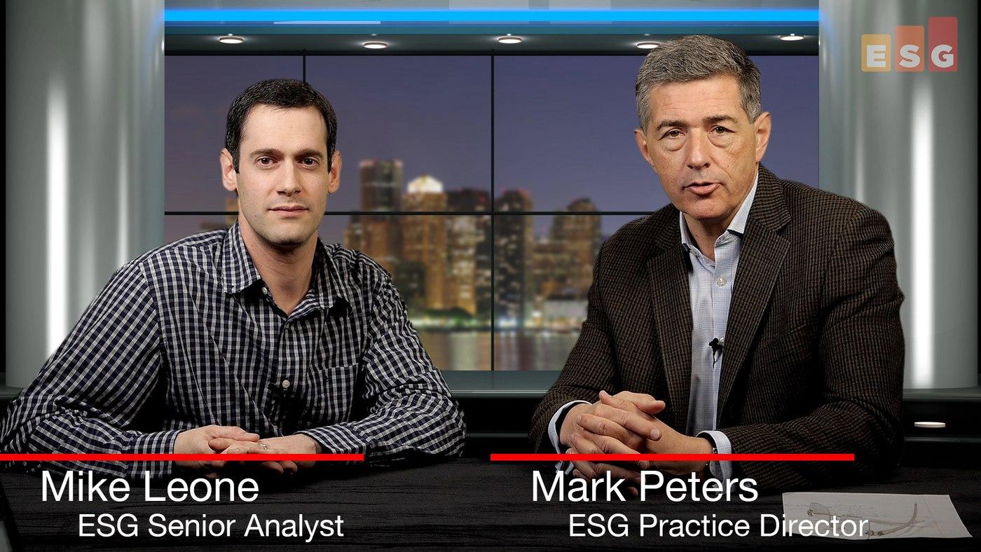 Talking Data Analytics (ESG 360 Video Series)