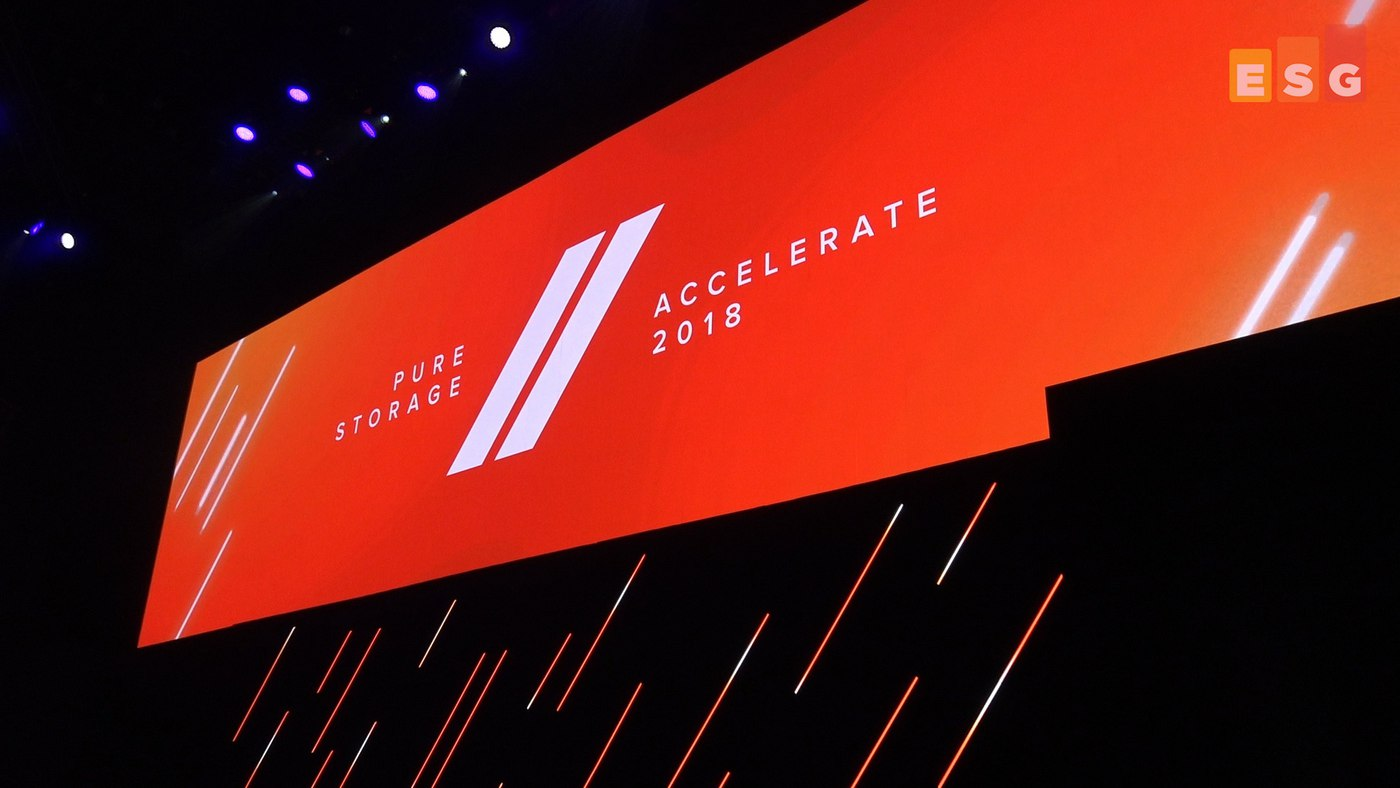 Pure Accelerate 2018 – Data Centric in the City (includes video)