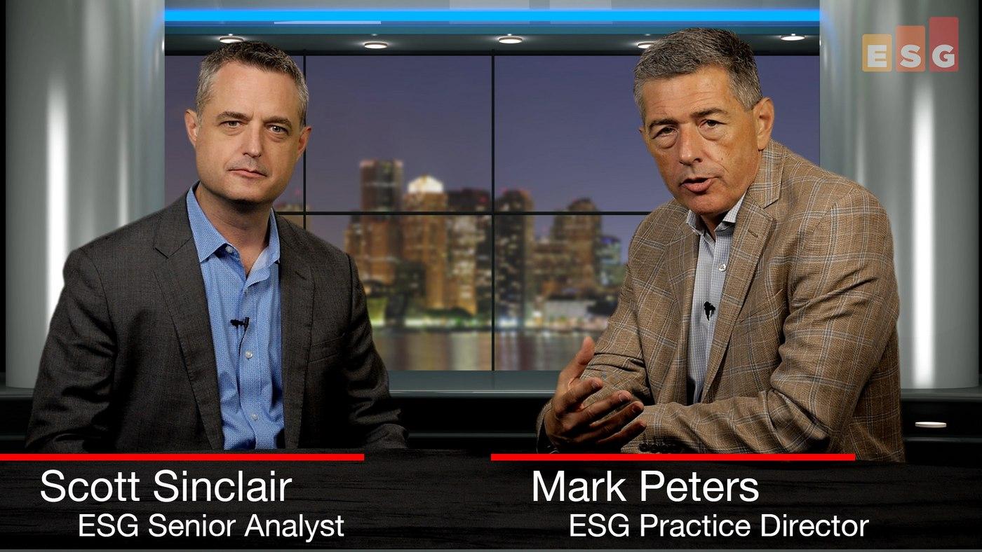 Talking NVMe and Optimized Hybrid Storage Management (ESG 360 Video Series)