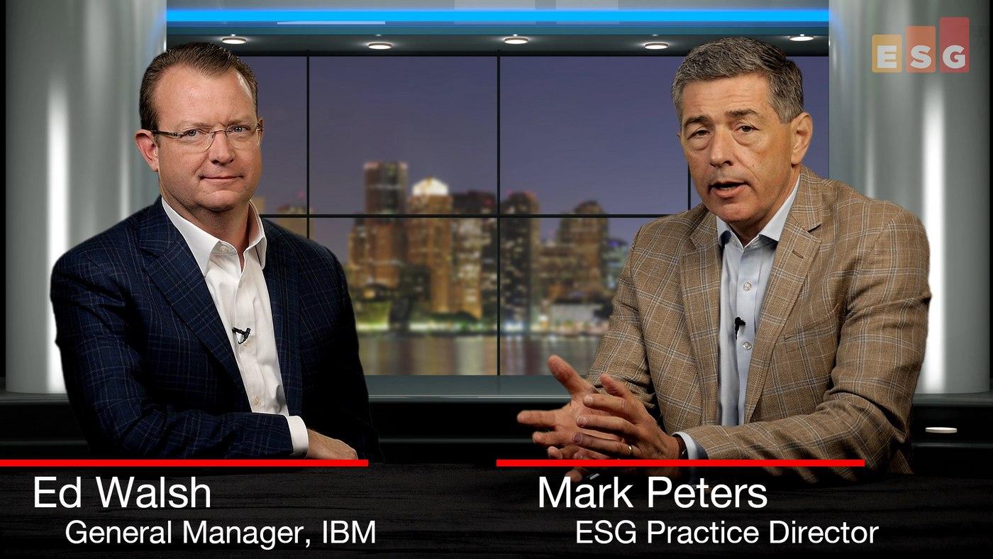 IBM Storage Develops Its Modern Storage Mantra and Portfolio (Video)