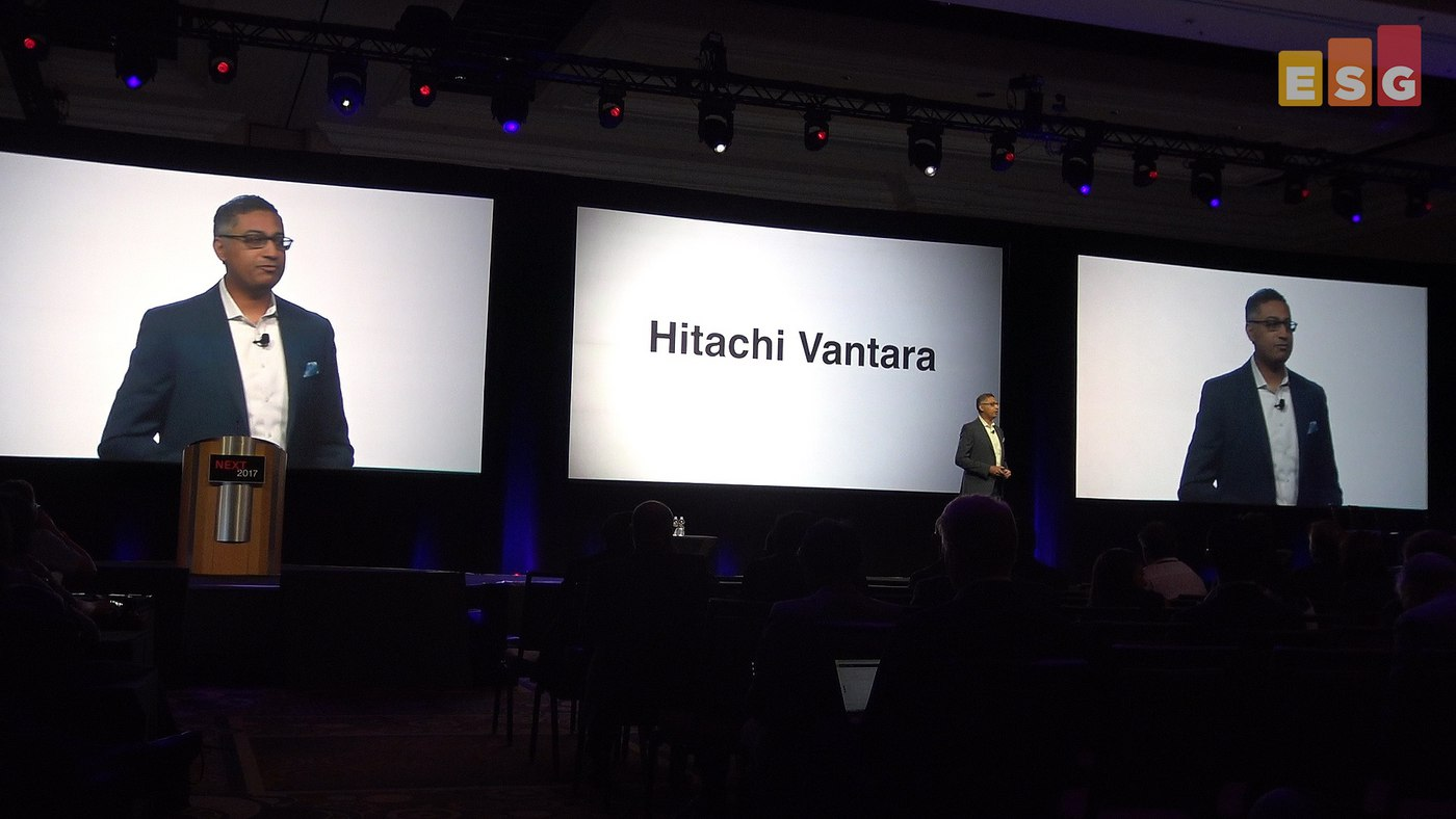 Hitachi Transforms Itself at Next (Video)