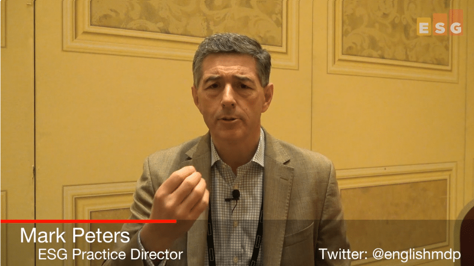 ESG On Location Video:In Conversation with Scott Yow of HPE Pointnext at HPE Discover 2018
