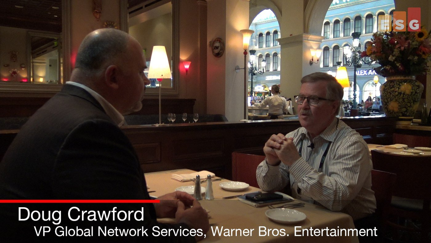 In Conversation with Warner Bros. Entertainment's Doug Crawford at HPE Discover 2018 (Video)