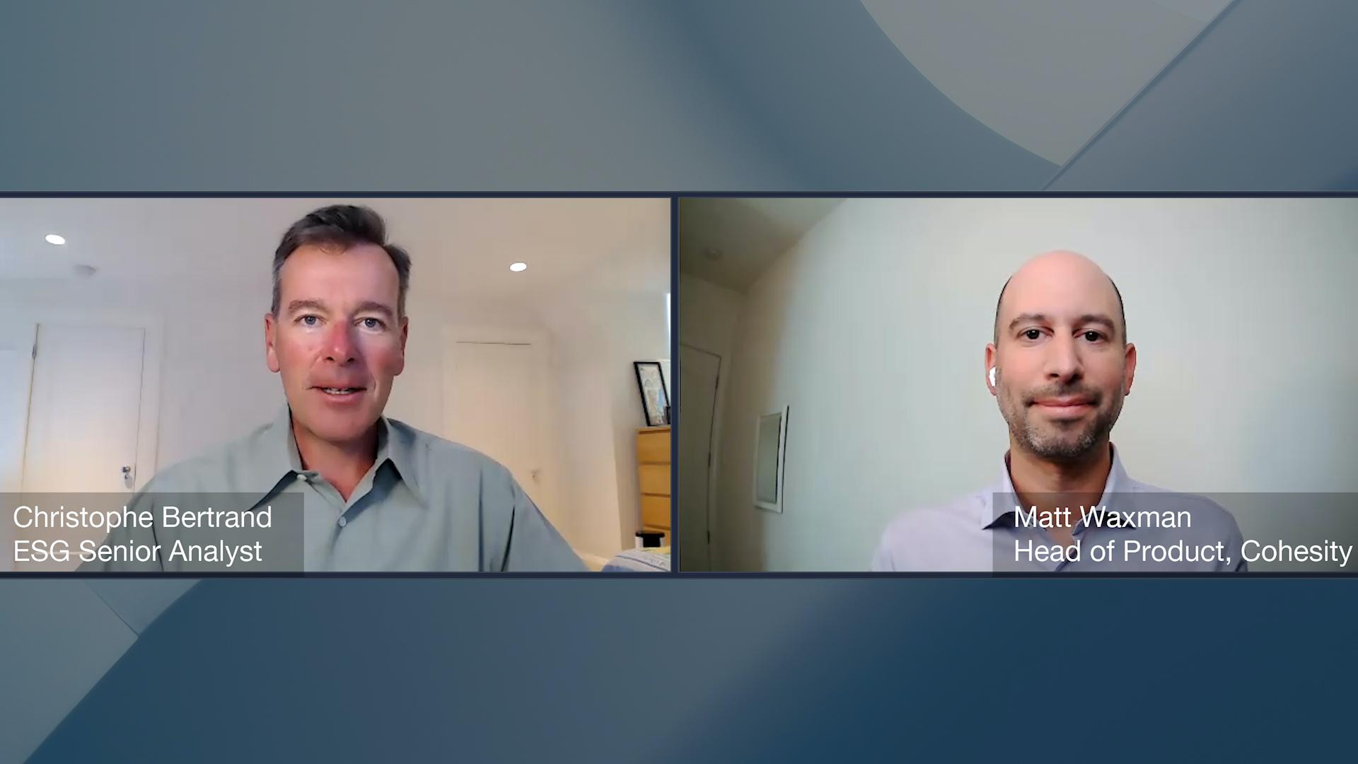 Data Protection Conversation with Matt Waxman of Cohesity (Video)