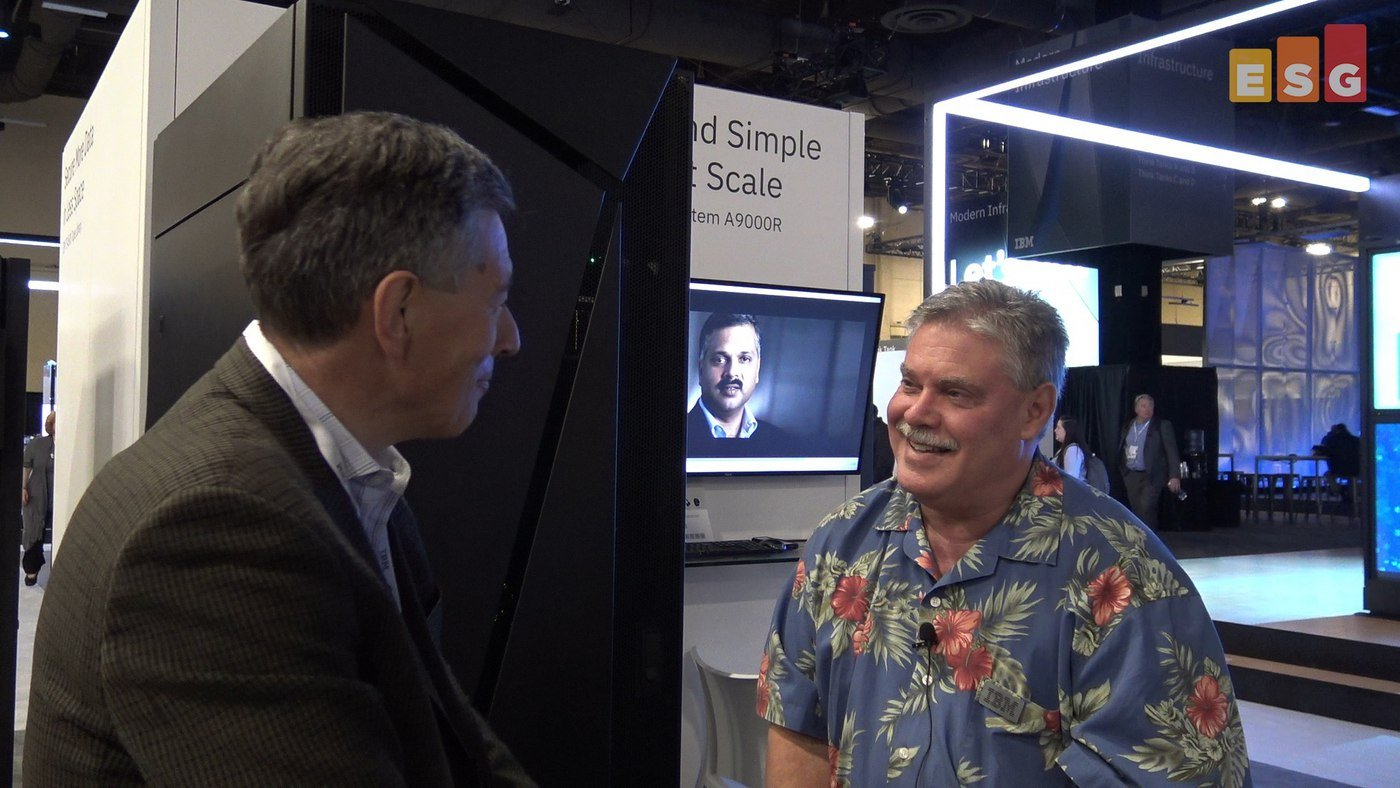 In Conversation with IBM's Eric Herzog at Think 2018 (Video)