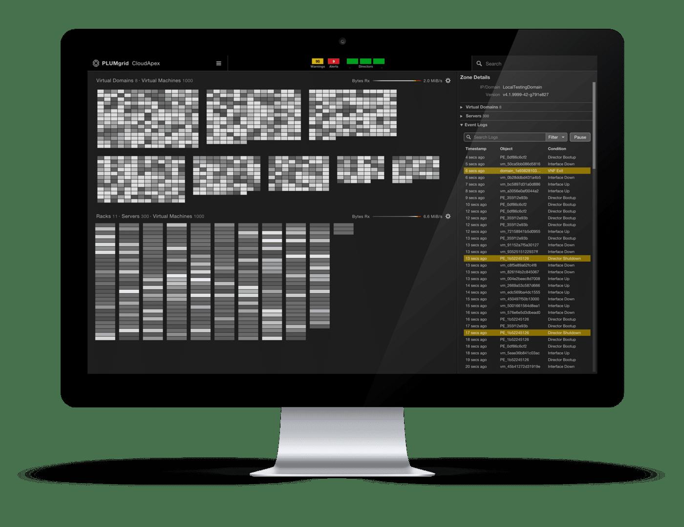 PLUMgrid CloudApex - Network Visualization and Monitoring
