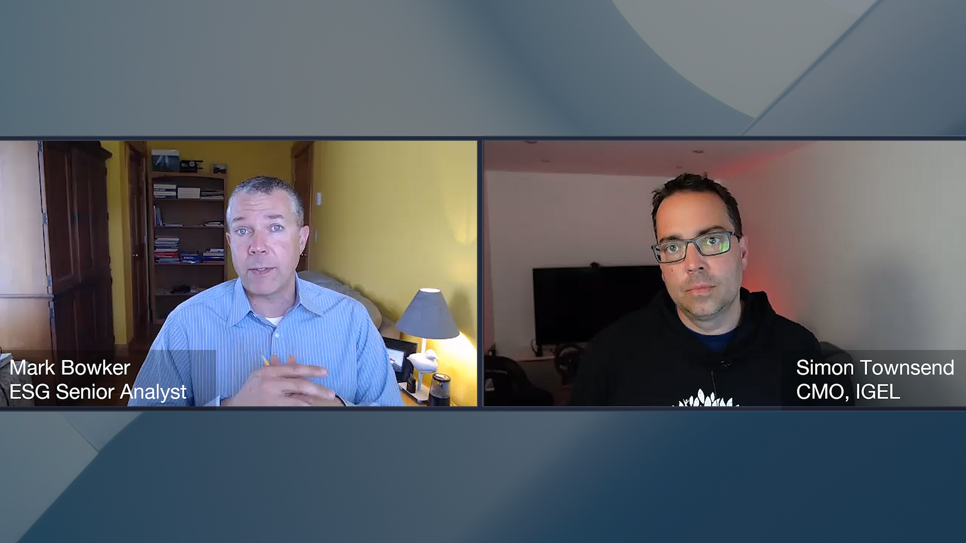 ESG360 Video: Digital Workspace Ecosystem Conversation with Simon Townsend of IGEL