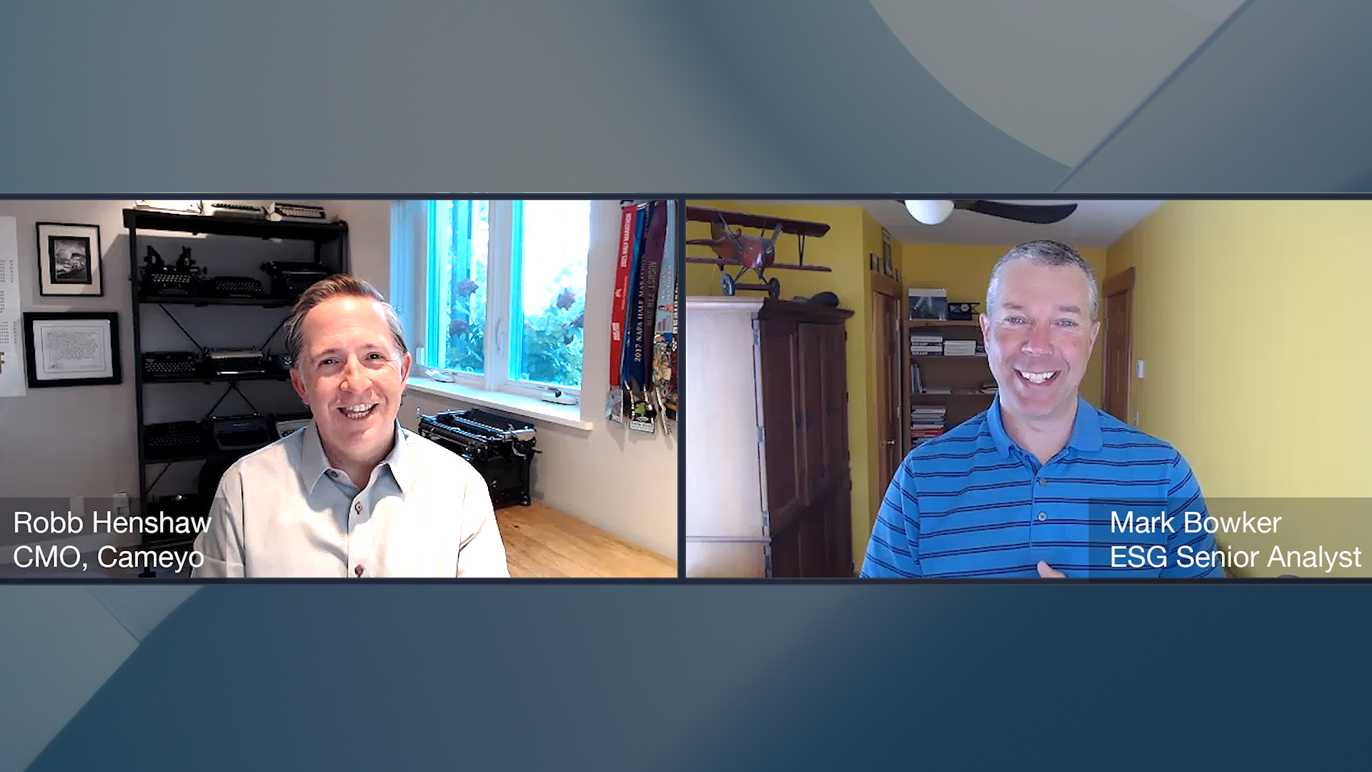 ESG360 Video: Digital Workspace Ecosystem Conversation with Robb Henshaw of Cameyo