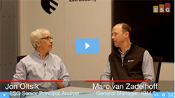 ESG360 Video: An Interview with IBM GM of Security Marc van Zadelhoff - Part 1