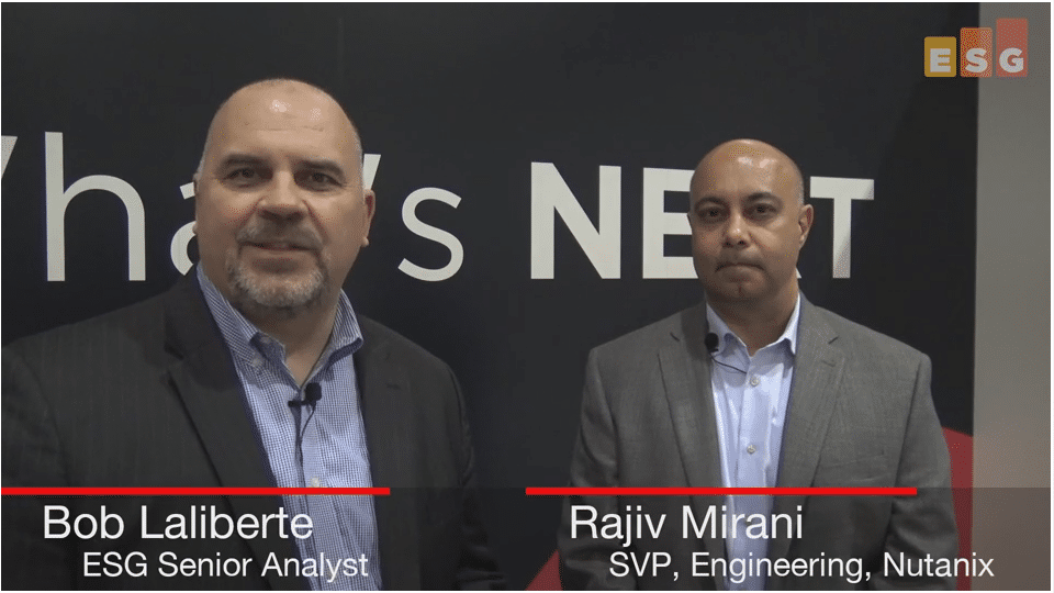 ESG On Location Video: Discussing the Acquisition of Netsil with Rajiv Mirani of Nutanix