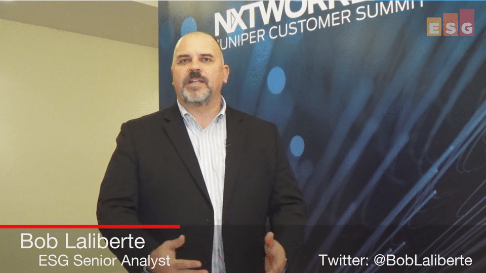 ESG On Location Video: Insights From NXTWORKS 2017 Juniper Customer Summit