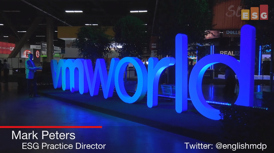ESG On Location Video: Insights from VMworld 2017