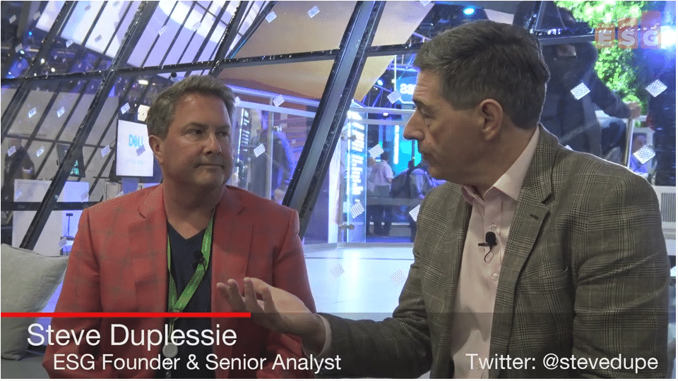 ESG On Location Video: Market News and Insights from Dell Technologies World 2018