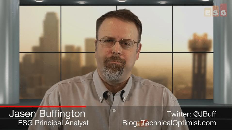 ESG Video Blog: Exploring Data Management and Enablement, aka Copy Data Management