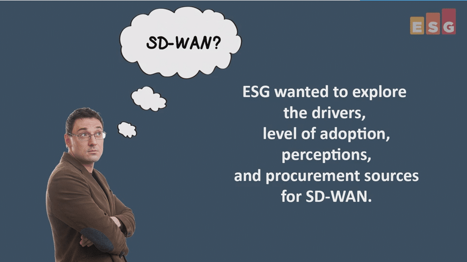 ESG Video: SD-WAN Research Highlights