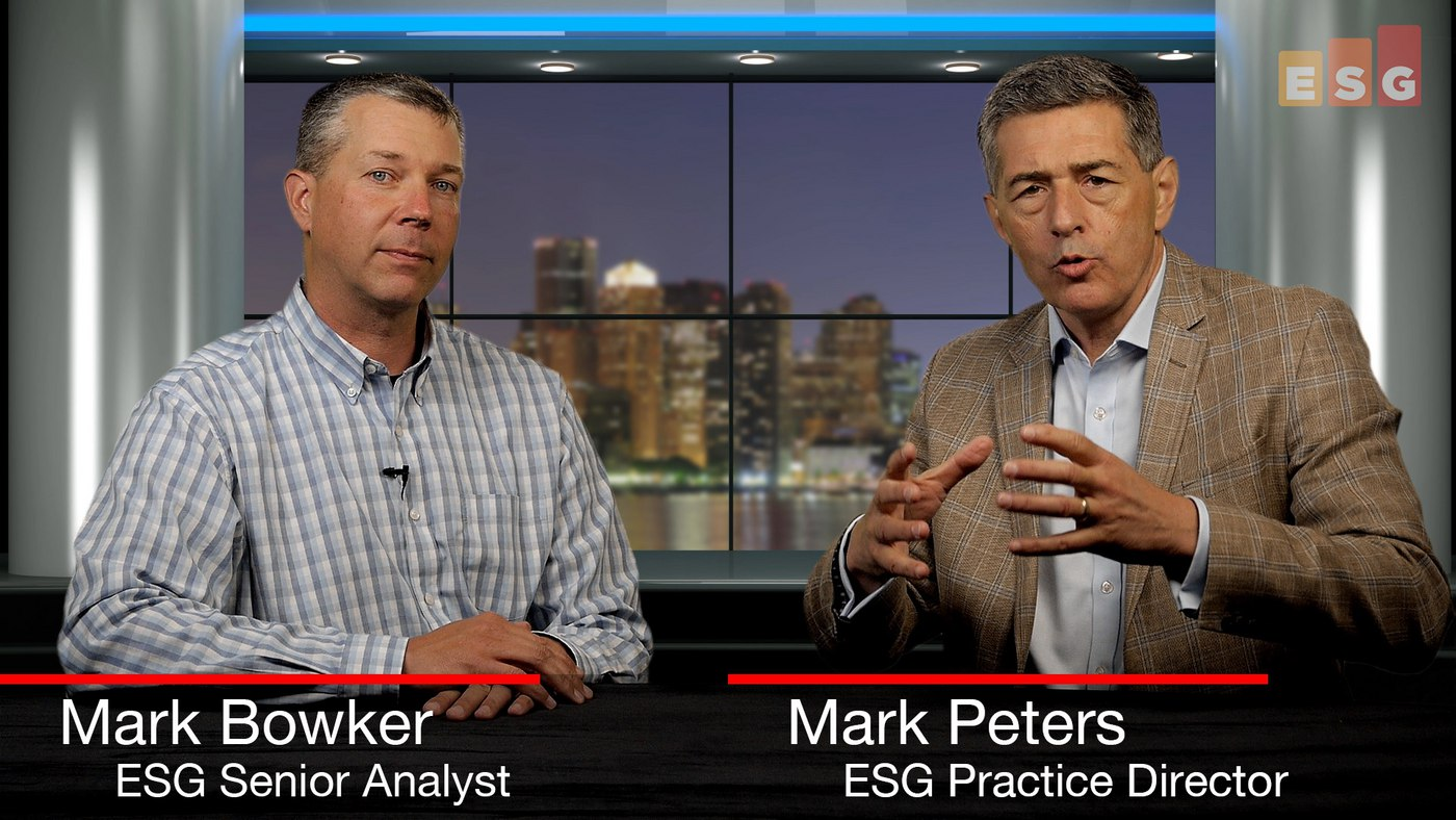 ESG360 Video: Talking Enterprise Mobility With Mark Bowker and Mark Peters