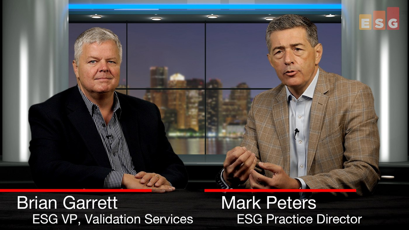 ESG360 Video: Talking Validation With Brian Garrett and Mark Peters