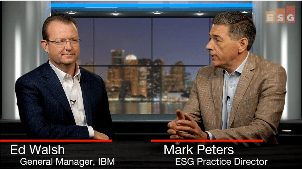 ESG360 Video:ESG in Conversation with Ed Walsh about IBM's Vision of a 'Data-driven Multi-cloud'