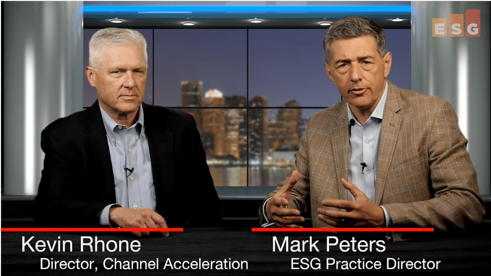 ESG360 Video:Talking Channel Acceleration With Kevin Rhone and Mark Peters