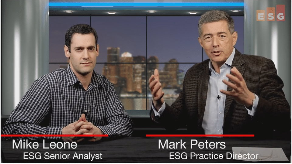 ESG360 Video: Talking Converged Infrastructure With Mike Leone and Mark Peters